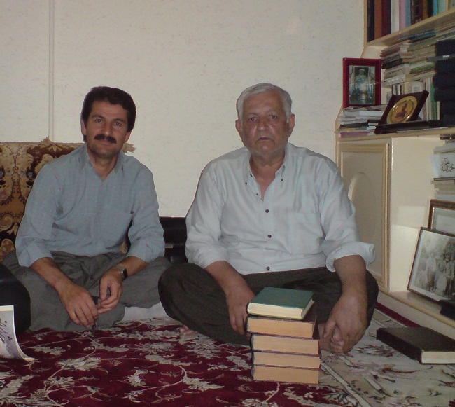 راست : عمر فاروقی      چپ : عبدالخالق رحمانی